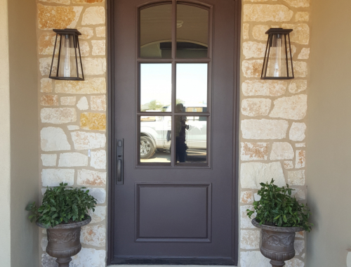 Custom Home Door